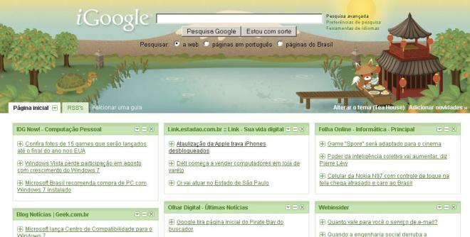 Meu IGoogle